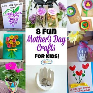 8 Fun Mother's Day Crafts for Kids