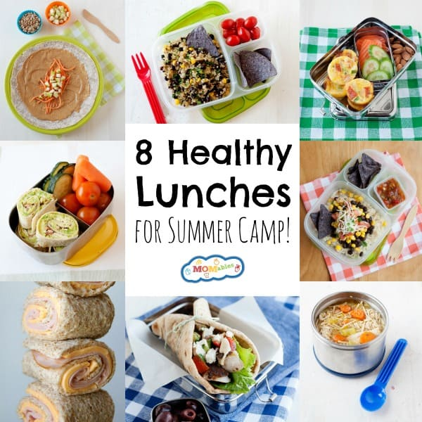 Fuel your kids with the nutrition they need to get through long, hot days with these healthy lunches for summer camp! Easy to pack and so delicious.
