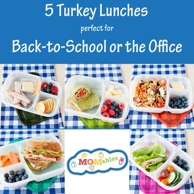 5 healthy school office lunch ideas with turkey 5 healthy school or office lunch ideas with turkey forumfinder Choice Image