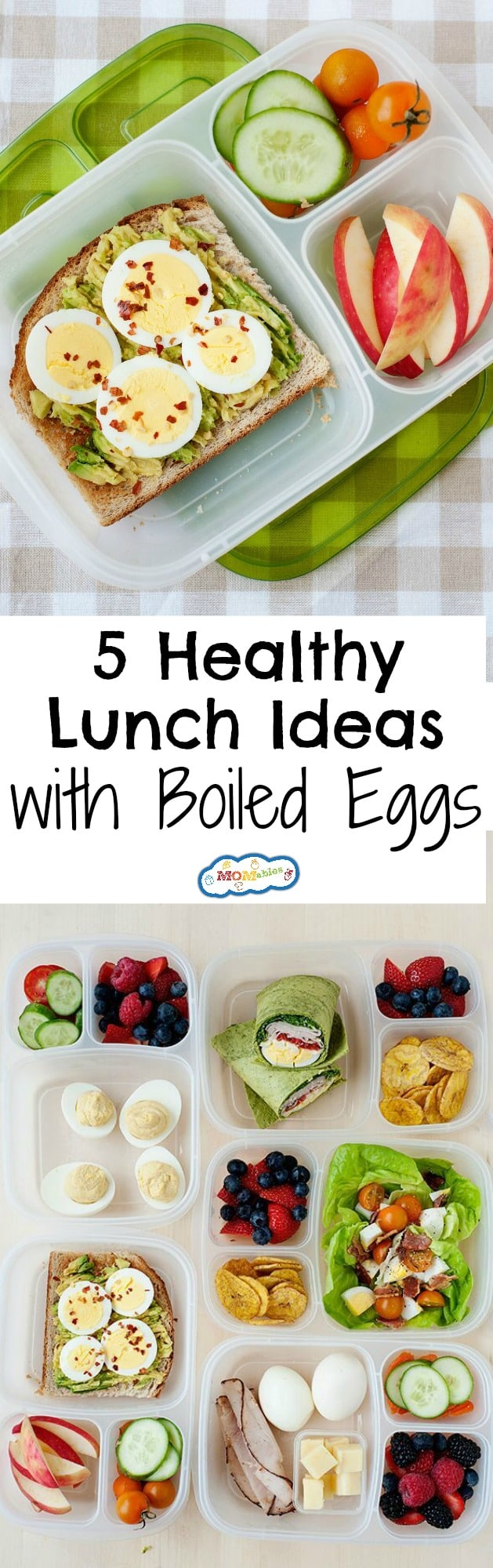 healthy school and office lunch ideas