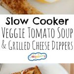 Tomato Soup and Grilled Cheese Dippers: This classic combo is a delicious meal to pack in a lunch box for the kids!