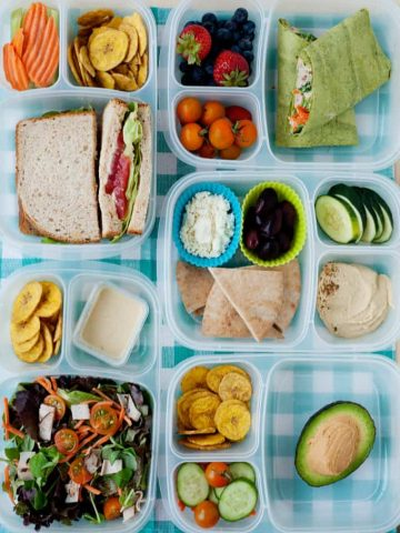 5 Hummus Lunches
