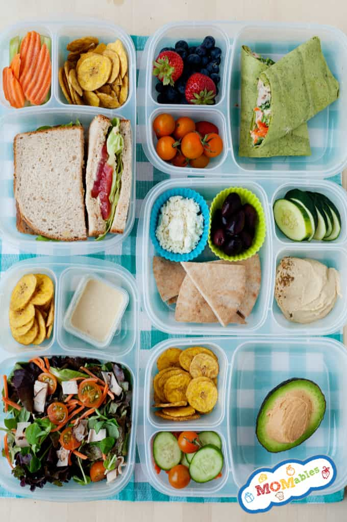 5 Hummus Lunch Ideas Momables Healthy School And Office Lunches