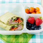 Hummus Turkey & Veggie Wraps