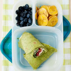 5 easy lunches using egg salad for school or the office. High in protein, vegetarian, and easy to make lunch ideas.