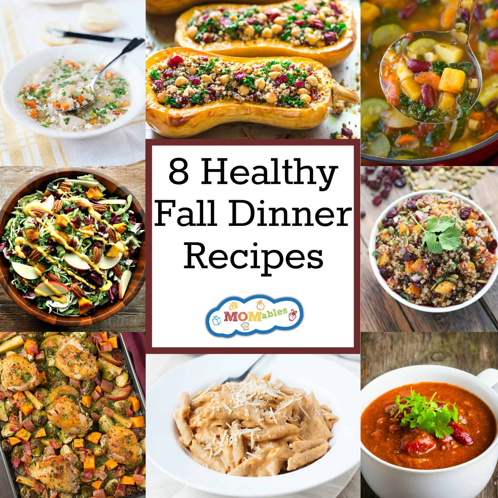 8 Healthy Fall Dinner Recipes