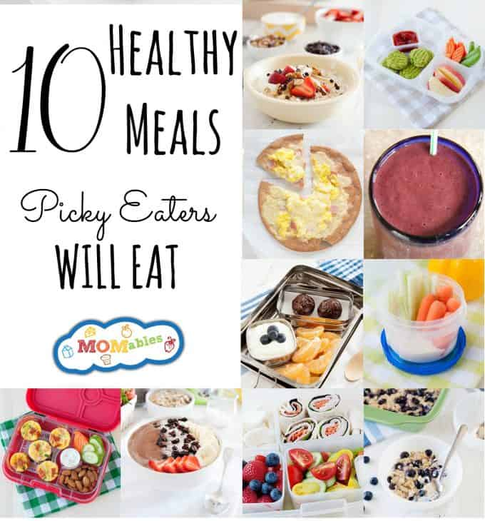 Looking for fresh ideas for your picky eater? Here are 10 great ideas they will love.