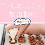 Valentine's Day Pretzel Hearts: As shown on the TODAYshow! Easy to make treats for your kids and the classroom.