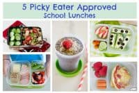 5 Picky Eater Approved School Lunches