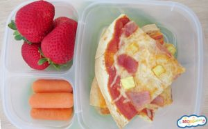 5 Picky Eater Approved School Lunches: Lunchbox Pizza