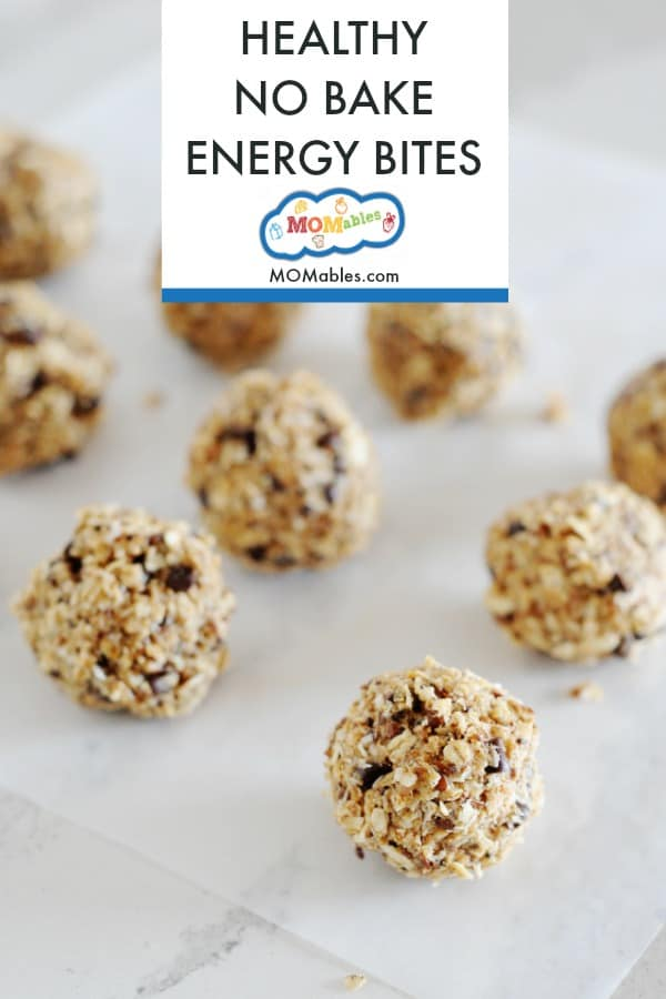 These No-Bake Oatmeal Raisin Energy Bites are the perfect easy no bake healthy snack!