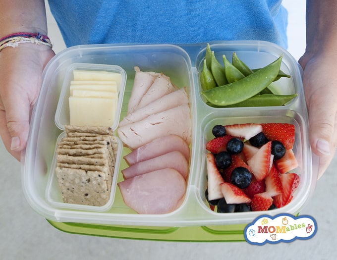5 Picky Eater Approved School Lunches: MOMable Lunch