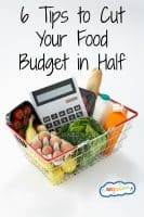 6 Tips to Cut Your Food Budget in Half
