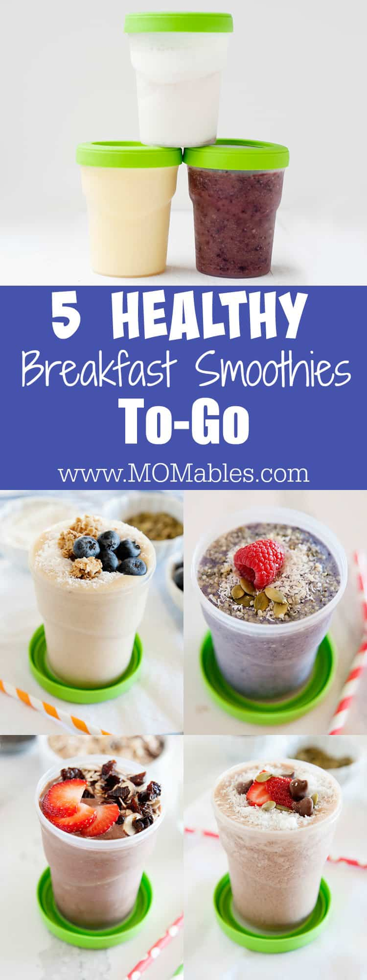 5 Healthy Breakfast Smoothies Momables Mealtime