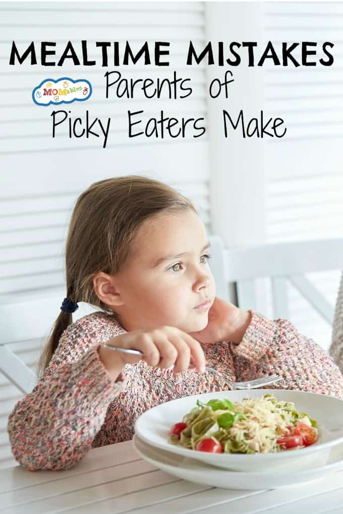 Have a Picky Eater? Follow these tips to overcome 5 Mistakes Parents are Making at Mealtime.