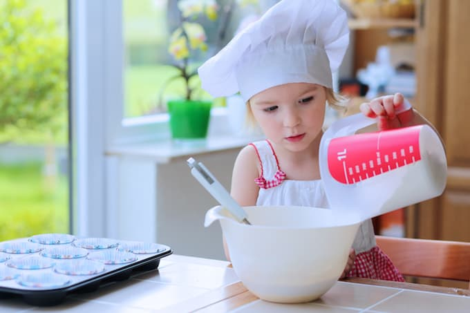 how to measure wet and dry ingredients for baking recipes
