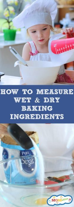 Need a baking guide to help you measure your wet and dry ingredients? This is our fool-proof guide to learn how to measure flour and the other common baking ingredients.
