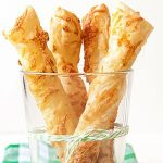 Baked Cheese Twists