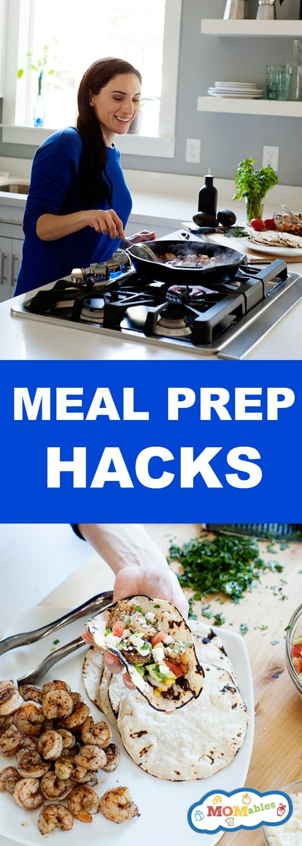 Spend less time cooking with these easy meal prep hacks. Great if you eat real food, follow a Whole 30 diet recipes, or Family KickStart Program