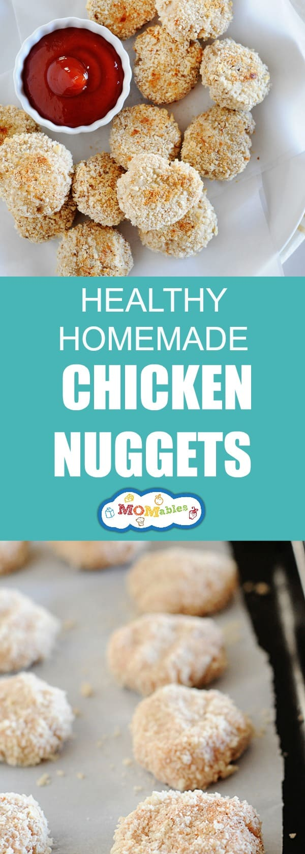 The texture kids love from the golden arches made at home with chicken.