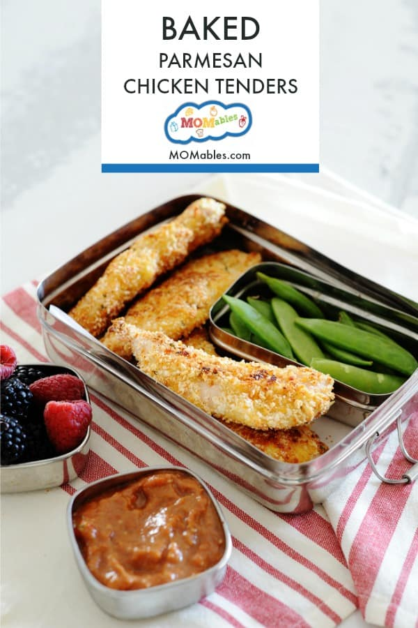 Homemade easy baked chicken tenders that are perfectly crispy on the outside and juicy on the inside! Plus, these you can freeze!