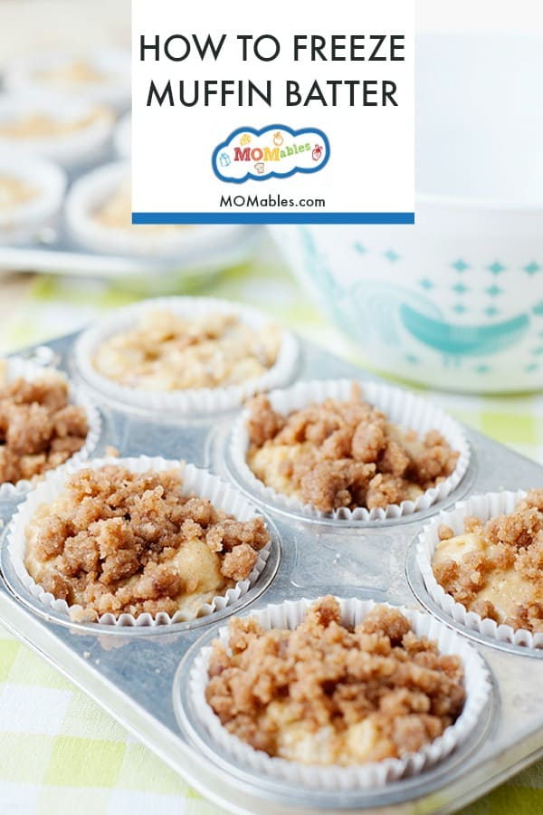 Want to know how to freeze muffins and how to freeze muffin batter? Check out the step by step so you can enjoy healthy baked muffins on demand! #muffins #muffin #breakfasts #freezermeals #bakedgoods #freshbaked #healty muffins