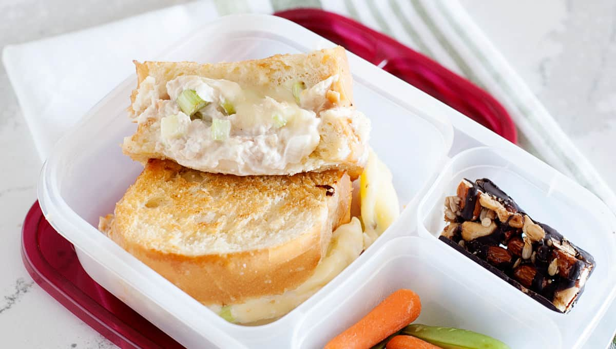 Grilled Tuna Melt Sandwich