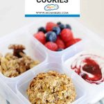 These three healthy breakfast cookies are SO easy to make and taste amazing! Breakfast or snack time, these breakfast cookies are perfect!
