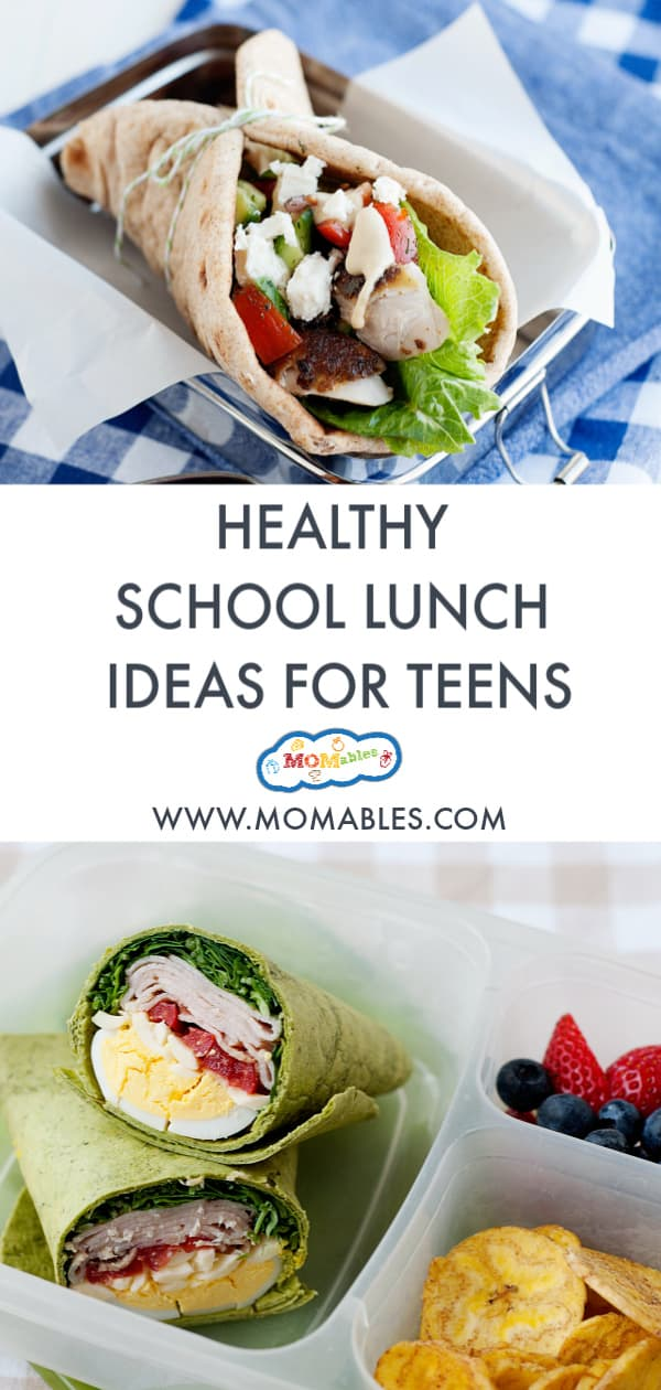 Healthy lunch ideas for teens