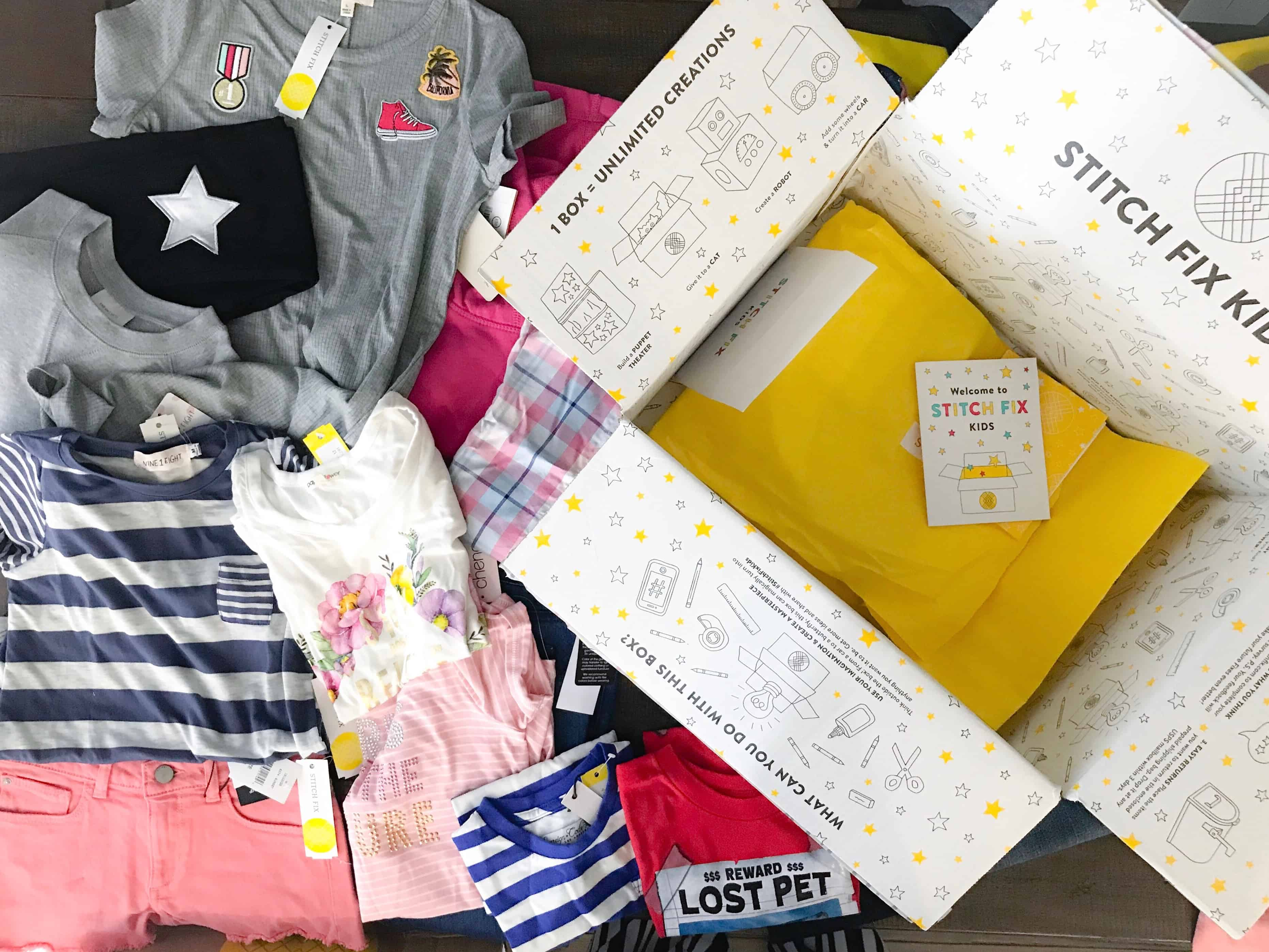 Stitch Fix Kids getting your kids ready for back to school