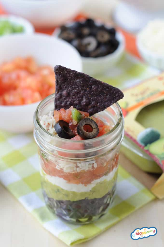 7 layer mexican dip cups