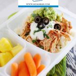 Healthy Chicken Burrito Bowls