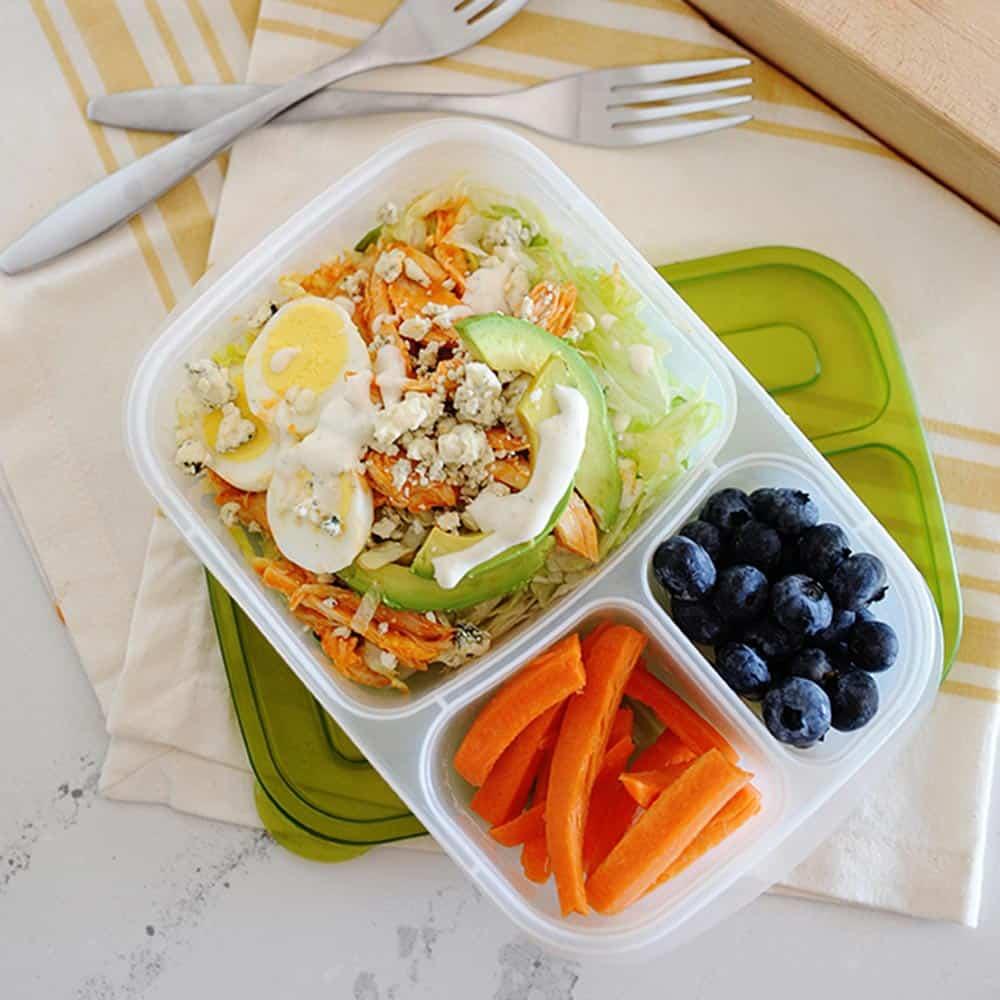 Buffalo Chicken Salad Lunchbox