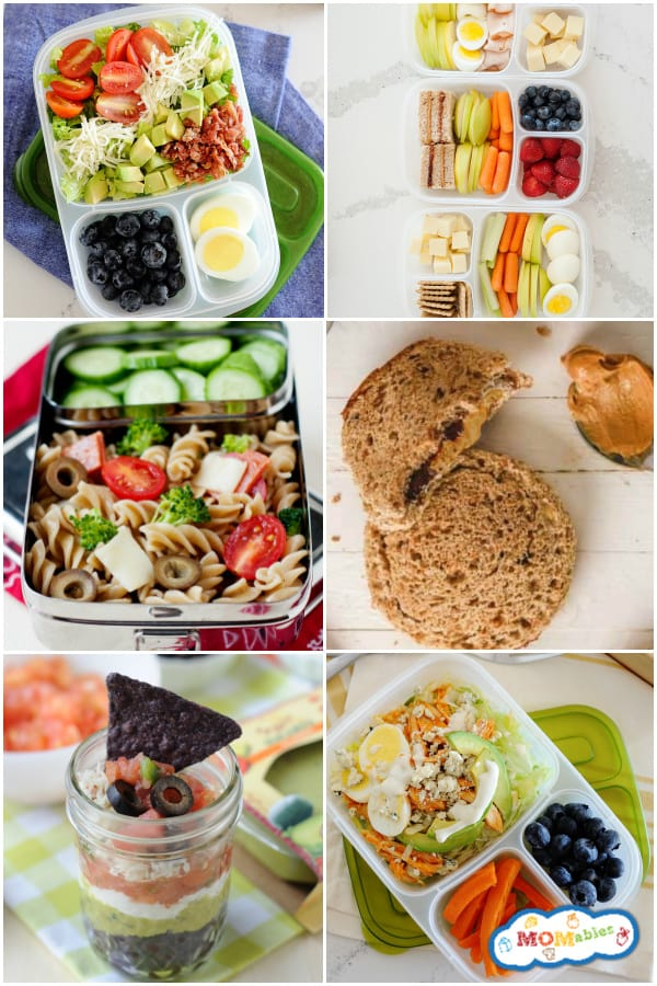 25 Cold Lunch Ideas for School