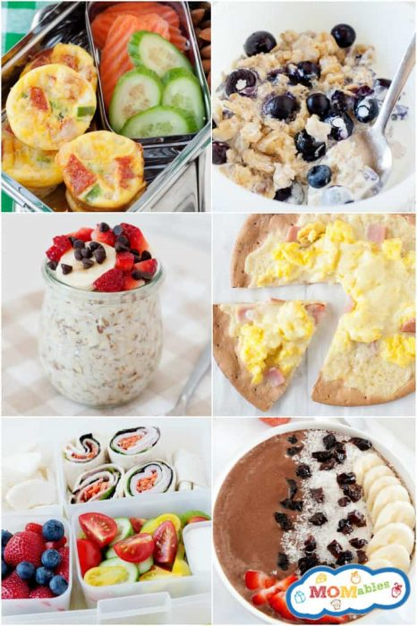image: collage of six healthy meal photos that are picky eater approved.