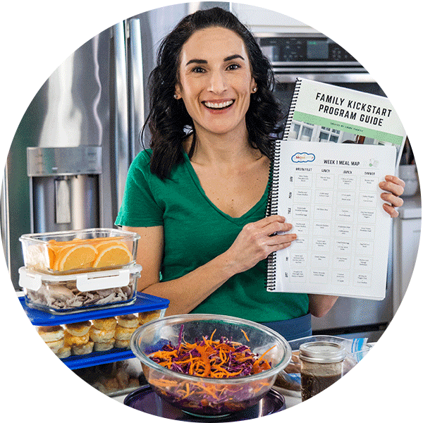 laura holding meal plan