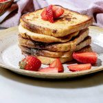 large stack of french toast
