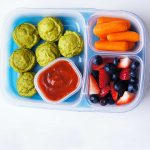 veggie nuggets in a lunch box